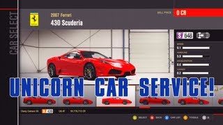 HOW TO GET ALL UNICORN CARS & CREDITS UNLOCKED! - *EASY* (FORZA 4)
