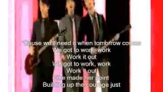We got to work it out Jonas Brothers With Lyrics