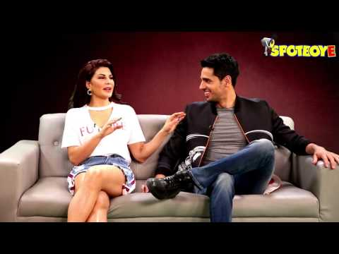 Sidharth Malhotra and Jacqueline Fernandez in a FUN Mood | A Gentleman | SpotboyE
