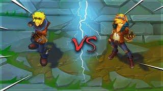 EZREAL ALL SKINS Old VS New Comparison Rework - League of Legends
