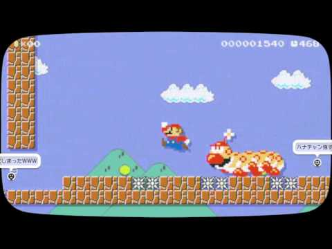 Super Mario Maker - Japan Top20 except Auto マリオメーカー 日本ランキング20(自動は除く)
