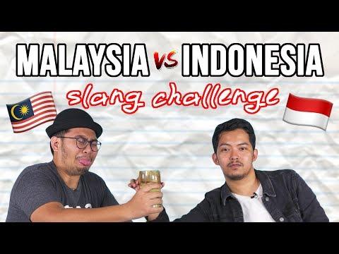 Malaysia Vs Indonesia: The Slang Challenge #comeback