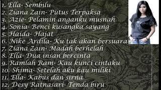 Lagu balada malaysia,ella,haida,ziana zain,shima dan banyak lagi