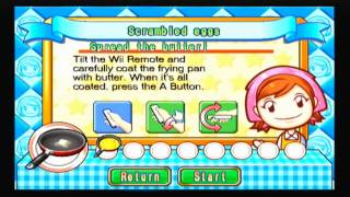 Cooking Mama: Scrambled Eggs - Poony Cooks