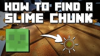 Minecraft: How to find a Slime Chunk [Without Seed]