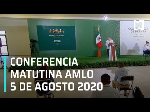Conferencia matutina AMLO / 5 de agosto de 2020