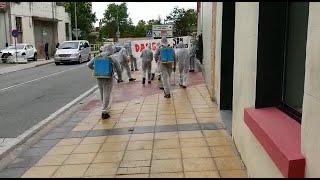 Ciudadanos lamenta que derramaran lejía tras su acto en Estella