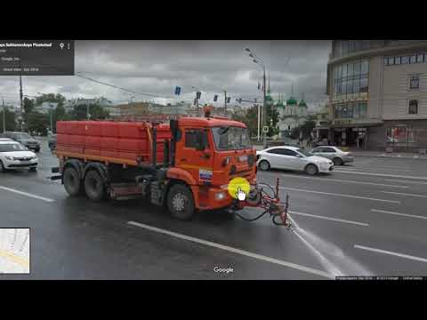 How do the people of Moscow, Russia live? Very Clean City. Google Maps Review