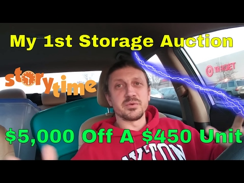 Storage Auctions Can Be Great For New eBay Sellers | My First Storage Auction Story