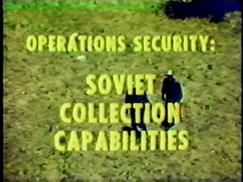 Operations Security: Soviet Collection Capabilities | Vintage US Army Video
