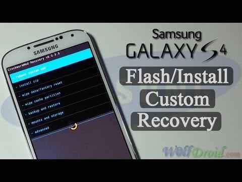 How to Flash/Install Custom Recovery for Samsung Galaxy S4 [Odin]из YouTube · Длительность: 3 мин33 с