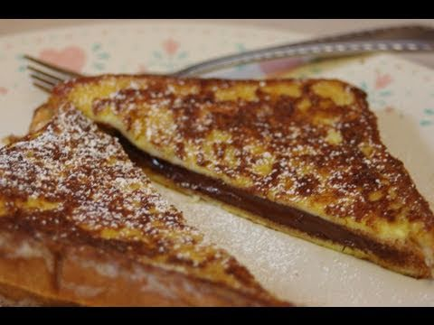 Grilled Chocolate Sandwich - YouTube
