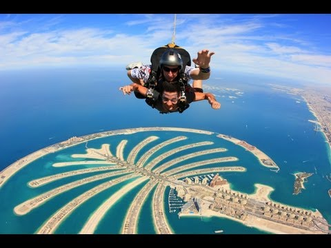 Skydive Dubai Above The Palm Jumeirah