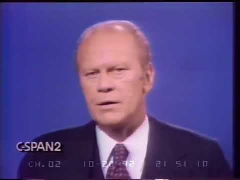 Jimmy Carter vs Gerald Ford - First Presidential Debate 1976