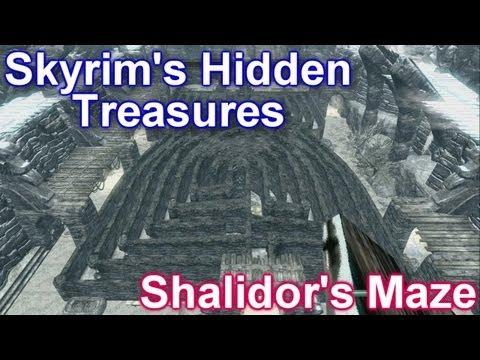 Skyrim's Hidden Treasures - Shalidor's Maze