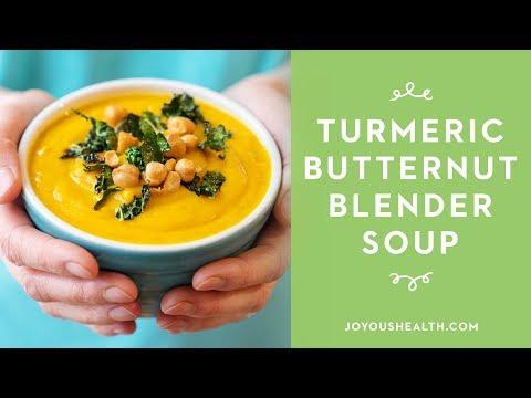 Turmeric Butternut Blender Soup