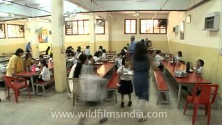 Lunch room at The Shri Ram School