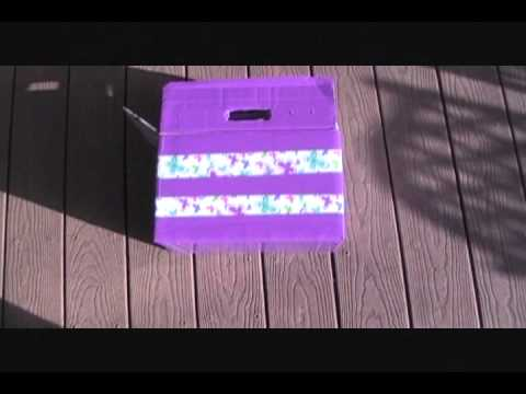 how to make a duck tape treasure chest youtube