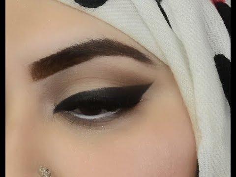 basic makeup and eyeliner tutorial for beginners urdu