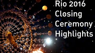 Rio 2016: Spectacular closing ceremony highlights as Olympic flag goes to Tokyo