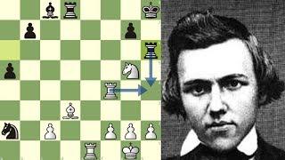 GENIOS ETERNOS: Morphy vs Anderssen (Match en París, 1858)