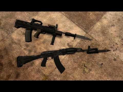 S.T.A.L.K.E.R.: GUNSLINGER MOD - Апгрейды и система обвесов оружия