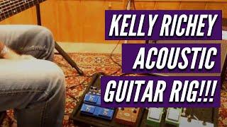 Kelly Richey Acoustic Guitar Rig 2014