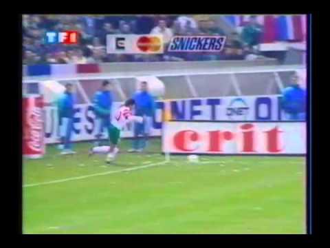 Novembre 1993: Francia-Bulgaria 1-2