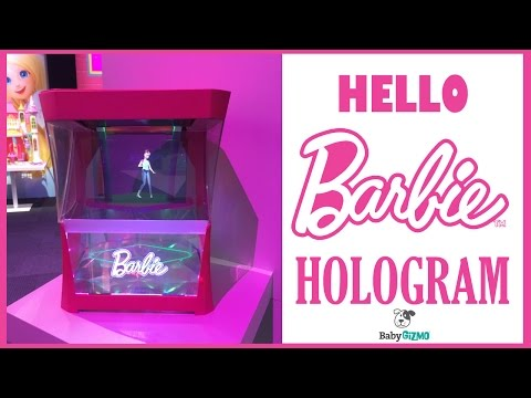 HELLO BARBIE HOLOGRAM | NEW TOY FOR 2017 | Toy Fair