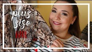 PLUS SIZE HAUL MIERZYMY  Wężowa sukienka!! | KARKO.PL
