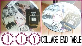 Diy⎜how To Collage An End Table