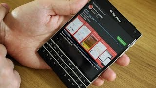 BlackBerry Passport Challenge: Day 5 - It's all about those apps! Free HD Video