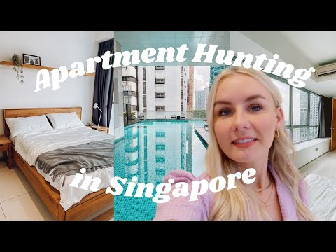 Apartment Hunting In Singapore! | Rent Costs & Apartment Tours