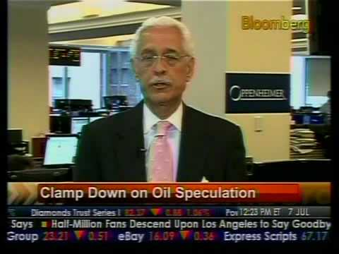 Energy Outlook - Clamp Down on Oil Speculation - Bloomberg