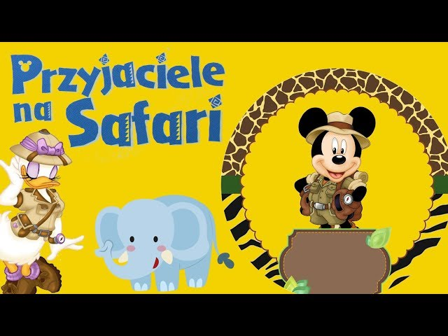 Przyjaciele na Safari #44 • Disney • Mrównik Antek • Encyklopedia zwierząt z zabawkami