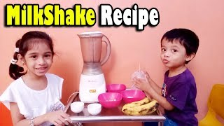 Milk Shake making at home | Bangladeshi baby food recipe | Toppa youtube channel