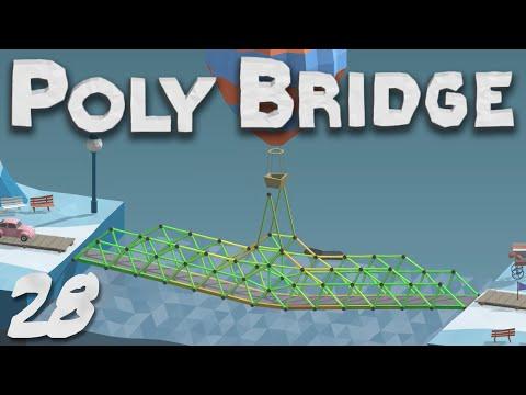 Poly Bridge 1.0 28 Water Under The Bridge
