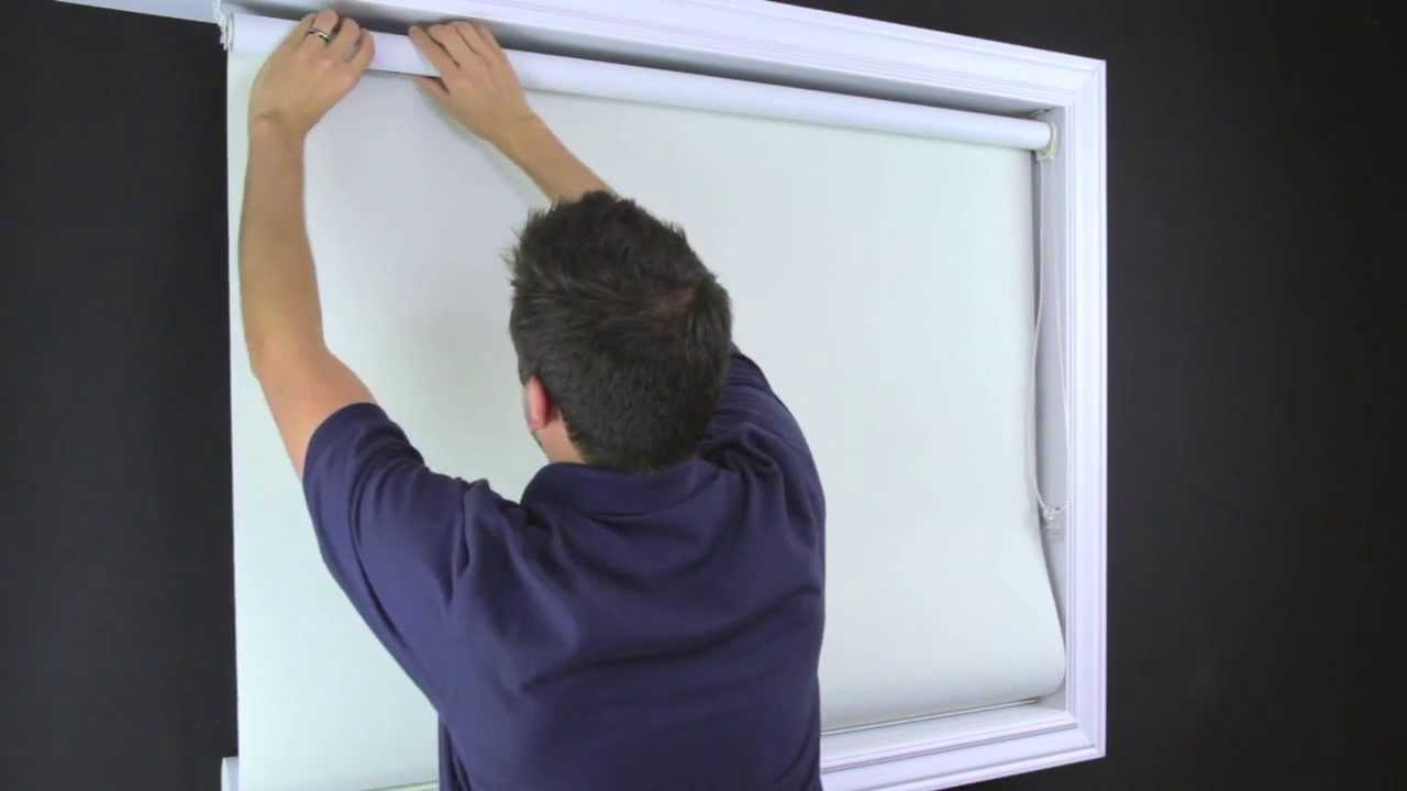 How to fix springs in roller shades and adjust spring tension - How To Fix Telescoping On Roller Shades