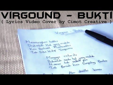 Virgoun - Bukti (Lyrics Video | Cover Video by Cimot48)