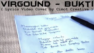 Virgoun - Bukti (Lyrics Video   Cover Video by Cimot48)
