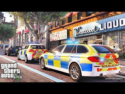 GTA 5 MODS LSPDFR 951 - BRITISH PATROL!!! (GTA 5 REAL LIFE