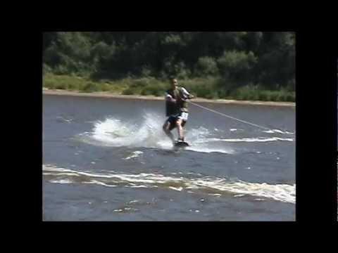 Snowboard water
