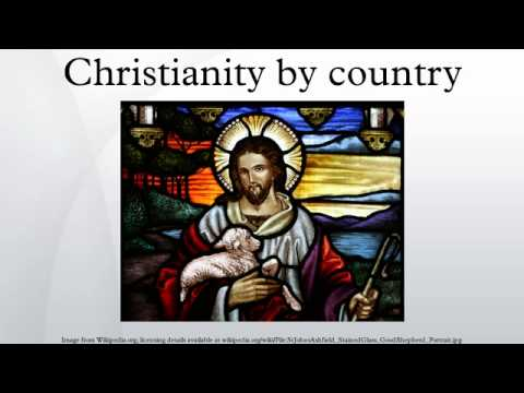 Christianity by country
