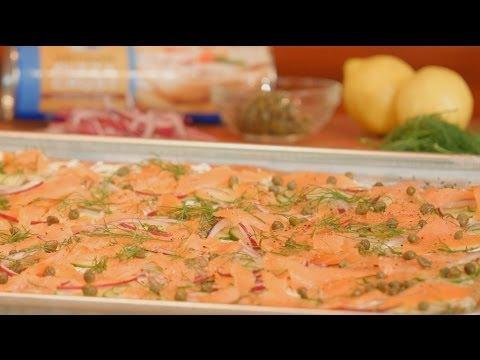 Pillsbury Artisan Salmon Pizza Flatbread