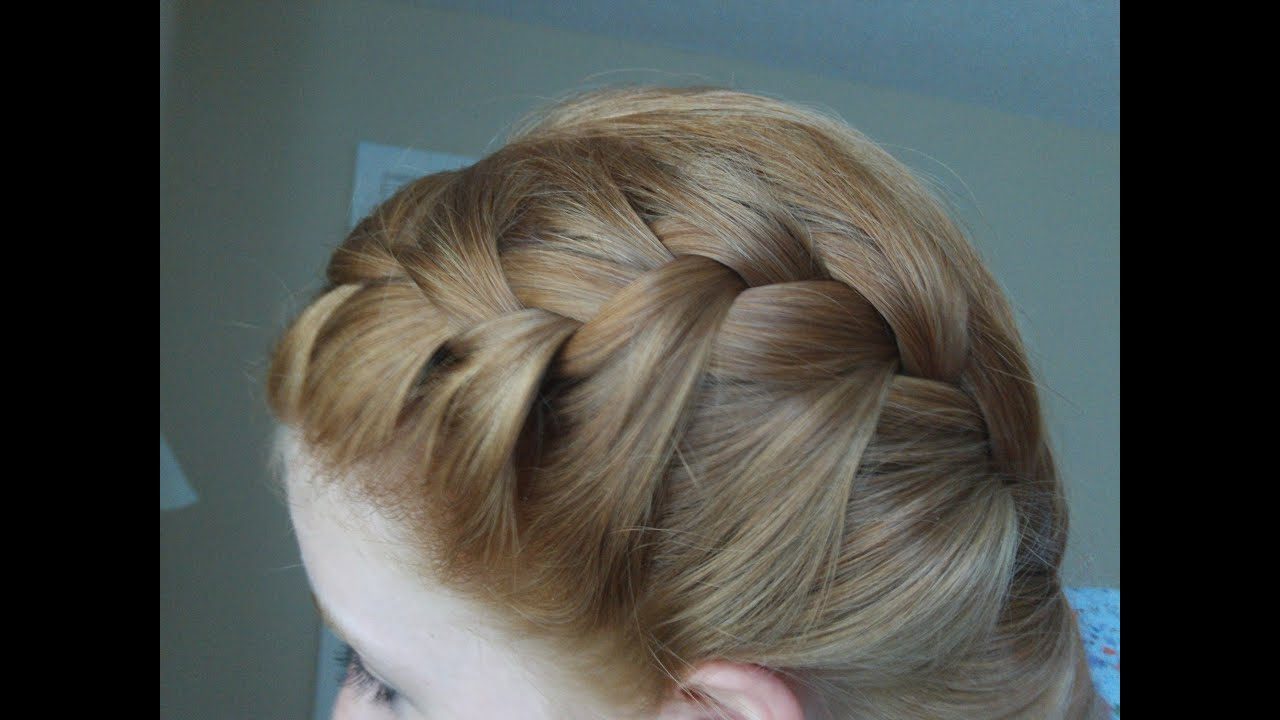How to french braid your hair in two parts youtube ccuart Choice Image