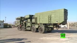 شاهد.. لحظة وصول منظومة 'إس 400' الصاروخية إلى قاعدة طرطوس.. فيديو