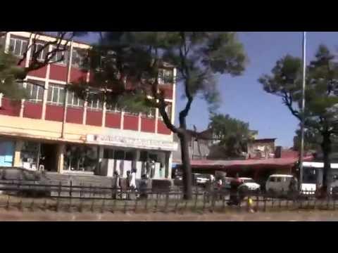 Ethiopia: Addis Ababa, Merkato {Huge Market} to Piassa by mini Bus, Jan 2012 thumbnail