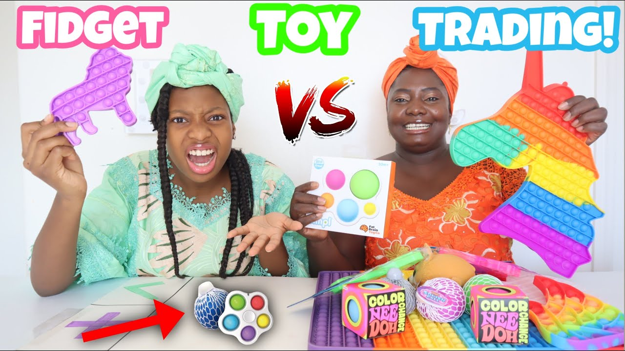 Trading Fidget Toys! African Style!
