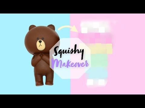 Squishy Makeover | Using Acrylic Paint on Squishies? Will it work?...