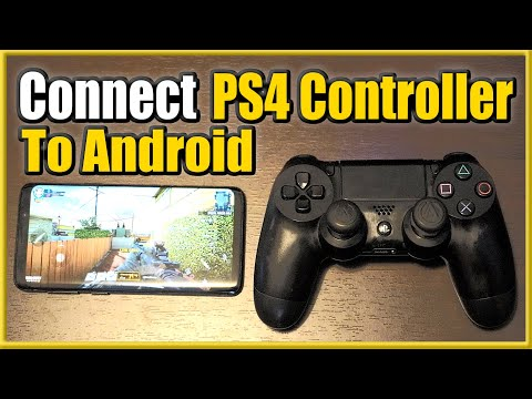 How To Connect PS4 Controller To Android Phone Using BLUETOOTH (Easy Method)